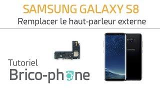 Tutoriel Samsung Galaxy S8 : remplacer le haut-parleur externe