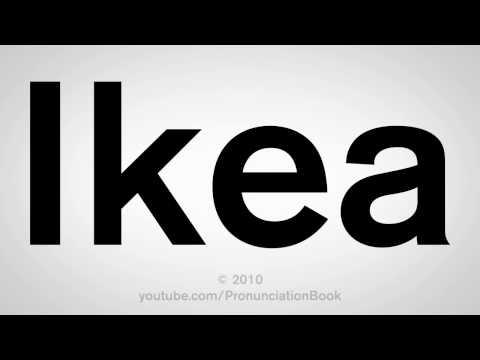 How To Pronounce Ikea