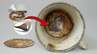 This Mug Lay In Auschwitz For 70 Years. Then A Secret Treasure Was Found Beneath Its False Bottom