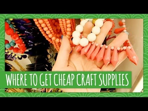 Where to get cheap craft supplies weekly recap hgtv for Where to buy cheap craft supplies