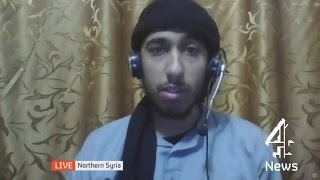 Why does UK view us as a threat? - British jihadist fighter | Channel 4 News