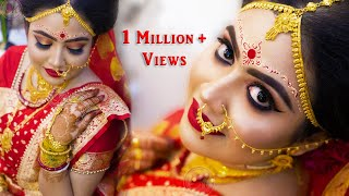 TRADITIONAL BENGALI BRIDAL MAKEUP || STEP-BY-STEP || Mayuri Sinha Sarkar