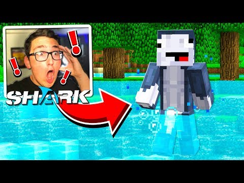 FINDING SHARKY in Minecraft... **BAD IDEA**