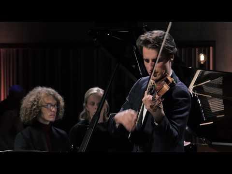 Lorenzo Gatto & Julien Libeer - Beethoven Sonata for violin & piano in G major op. 96 (1st mvt)