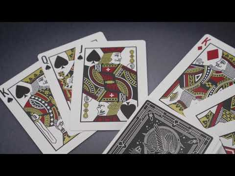 Falcon Playing Card video