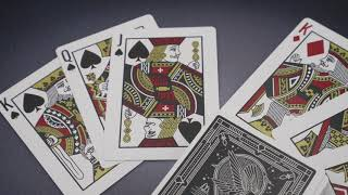 Video: Falcon Playing Card