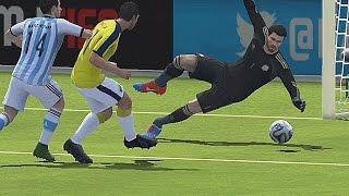 Colombia vs Argentina (Final COPA America Centenario) | USA 2016 | Simulacion FIFA