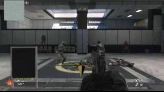 COD MW2 - Call of Duty Modern Warfare 2 - Quick Draw Mode  - The Raw Video from Justin.tv - Part 1