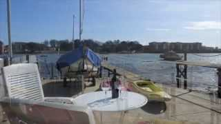 Waterside Property For Sale, River Itchen, Hampshire, UK. Price guide £275k to £300k