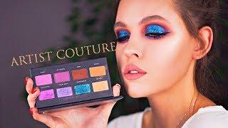 Новинка и первая палетка Artist Couture Midnight Maven Обзор макияж свотчи