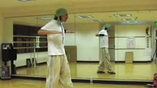 ヒップホップ ダンス レッスン4 HIPHOP dance  lesson   初心者 基本