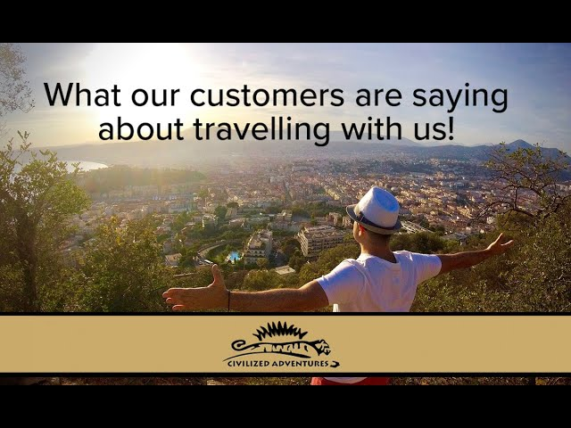 What do Civilized Adventures Clients have to say?