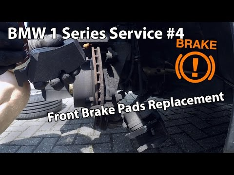 BMW 120D Service #4 - Front Brake Pad Replacement