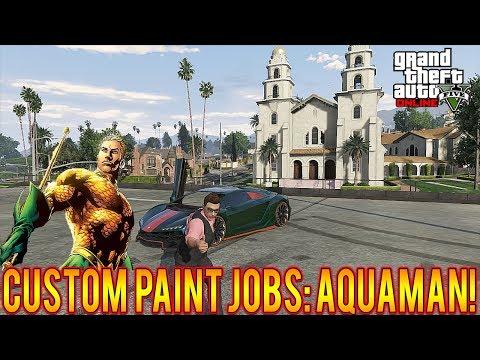 GTA 5 Custom Paint Job Avenger Series EP 1 HULK   FunnyCat TV