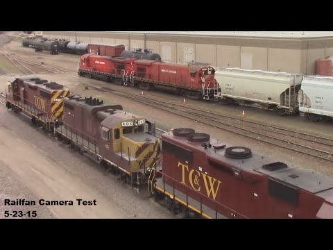 Minnesota Commercial Switching, TC&W and Amtrak swing by as well.