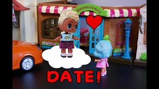 Lol Surprise Doll Oaken Takes Sparkles Out To Dinner!