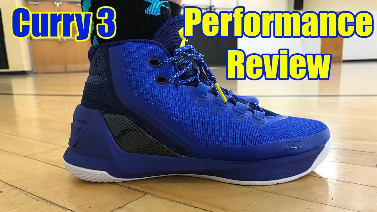 5e9f8d1052af8 Under Armour Curry 3 Performance Review - YouTube
