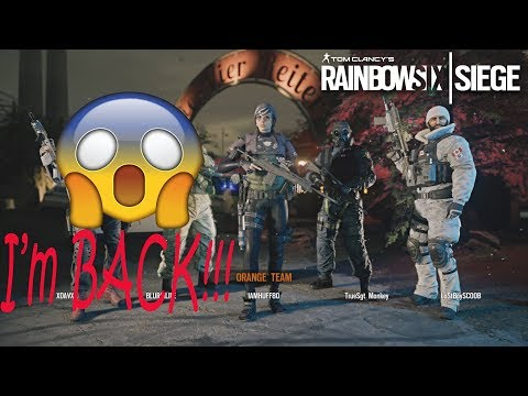 Rainbow Six: Siege - Funny Moments, First Game Back! (Full Match)