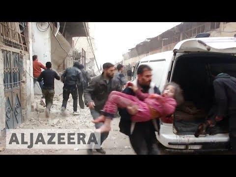 🇸🇾 🇷🇺 Syria, Russia escalate air raids on rebel-held areas