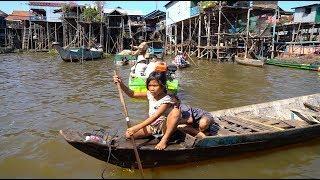 Невероятные места в Камбодже. Плавучая деревня и Ангкор Ват.