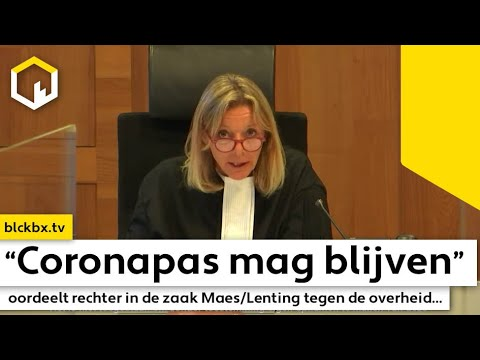 Advocaat Bart Maes reflecteert op het vonnis van de Coronapas...