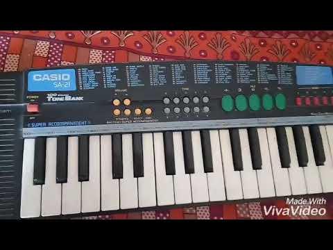 Manda bai shikleli nhavti kay | Casio sa 21 | marathi song piano cover with song |