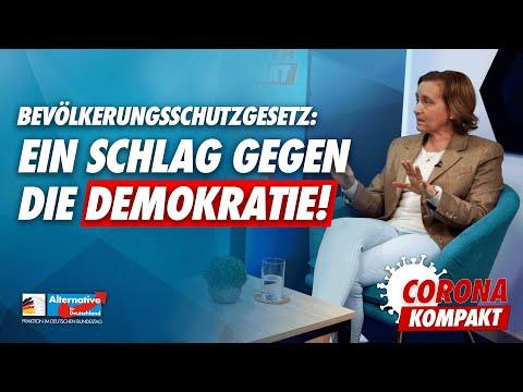 Ein Angriff auf die Demokratie! - Corona-Kompakt mit Beatrix von Storch - AfD-Fraktion im Bundestag