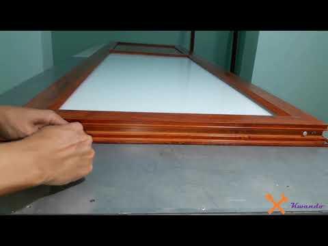 How To Homemade And Install An Aluminum Door! DIY Aluminum Door Making