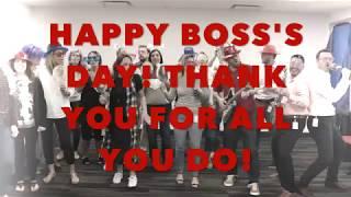 Boss's Day 2018