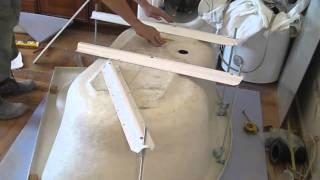 сборка и установка ванны RAVAK ROSA(Видео к статье для сайта http://www.buildtuts.com