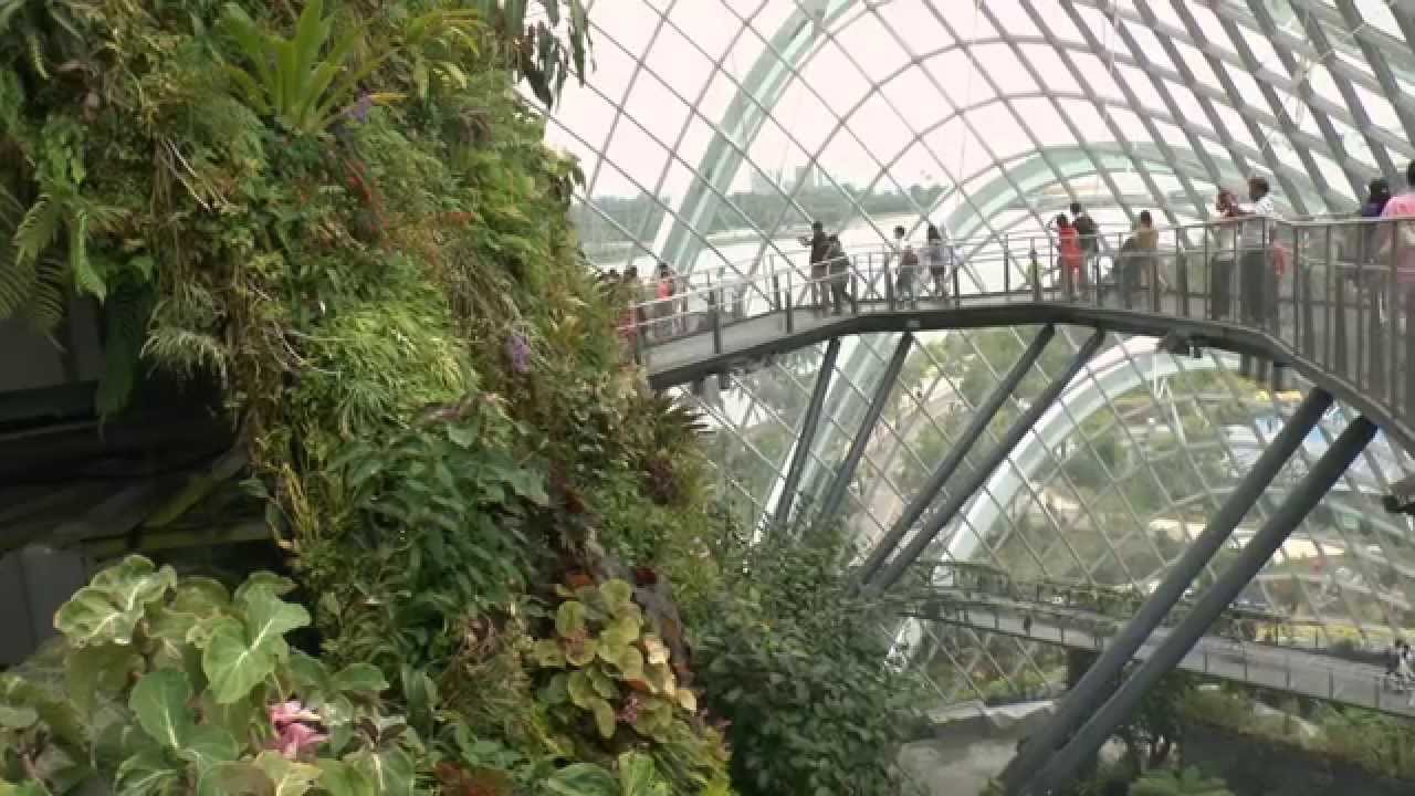 Singapour video jardins de marina bay youtube for Jardin de la vereda