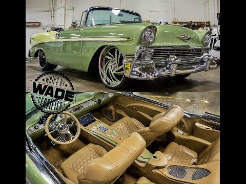 "Joe's 56 Bel Air Supercharged LS3 on 22/24x12"" Wheels by Jason's Automotive"