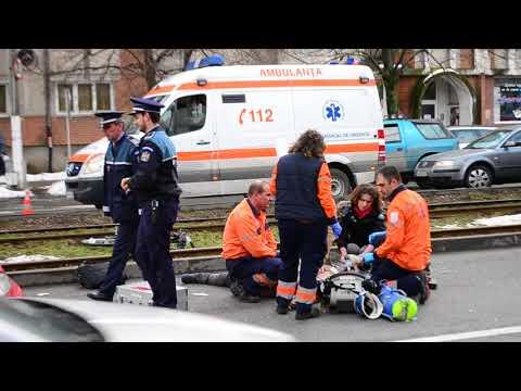Accident mortal in Arad