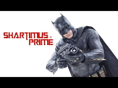 Hot Toys BATMAN Batman v Superman Dawn of Justice 1:6 Scale MMS342 DC Comics Movie Figure Review