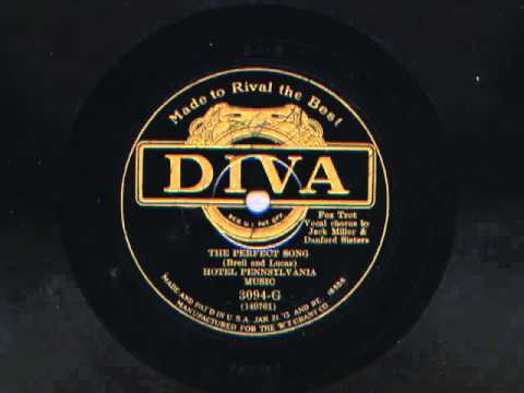 The Perfect Song by Hotel Pennsylvania Music, 1930