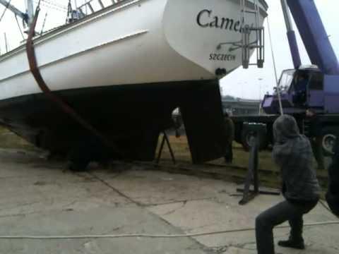 Slipowanie 2011 s/y Camelot
