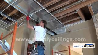 How To Install Drop Ceilings (Drop Ceiling Grid Designs)