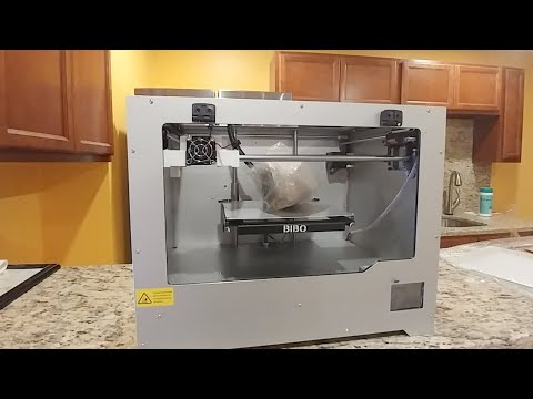 Unboxing And Connecting The BIBO 3D Printer Part 2