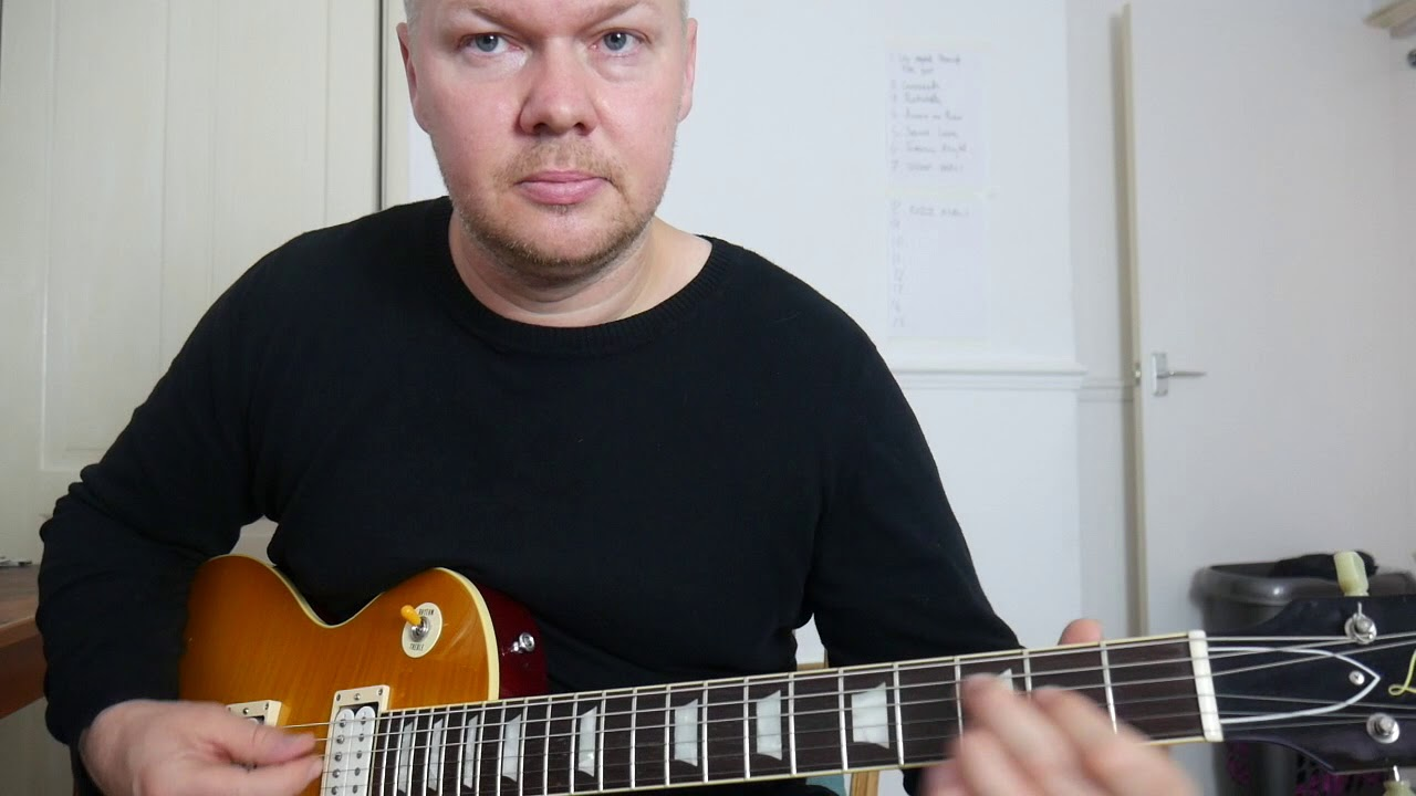 How To Play Stormy Monday Chords The Correct Way Allman Brothers