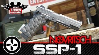SSP-1 NOVRITSCH Hi-Capa 5.1 Pistol | Airsoft Review en Español