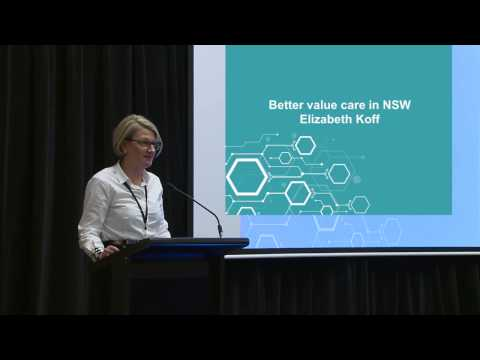 4  Better value care in NSW: NSW Health and Medical Research Exchange