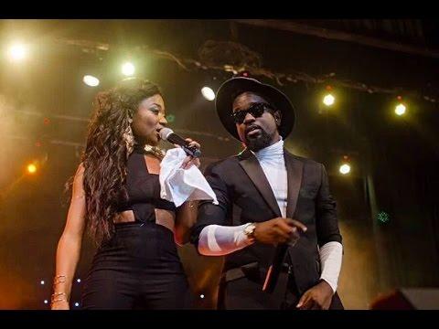 Sarkodie - Surprises Efya on stage @ Girl Talk concert 2015 with Efya | Ghana Music