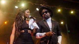 Sarkodie - Surprises Efya on stage @ Girl Talk concert 2015 with Efya | GhanaMusic.com Video