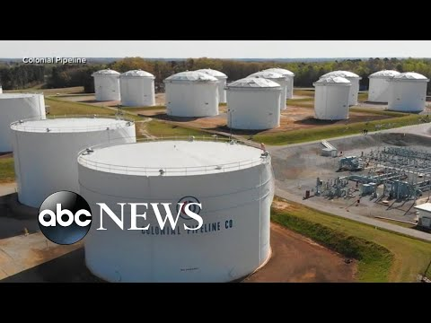 ABC News Live Update: Colonial pipeline CEO says company still recovering from hack