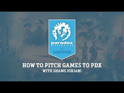 Gamescom - How to pitch games to PDX