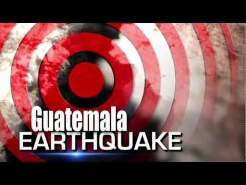 GUATEMALA - MEXICO Massive 6.0 EARTHQUAKE ... July 29, 2012. Prediction.