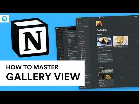 How to Master the Gallery Block in Notion