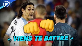 VIDEO: Ca a chauffé entre Lionel Messi et Edinson Cavani | Revue de presse