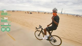 Dante Young Mashing Down the PCH [Training Ride Part 2