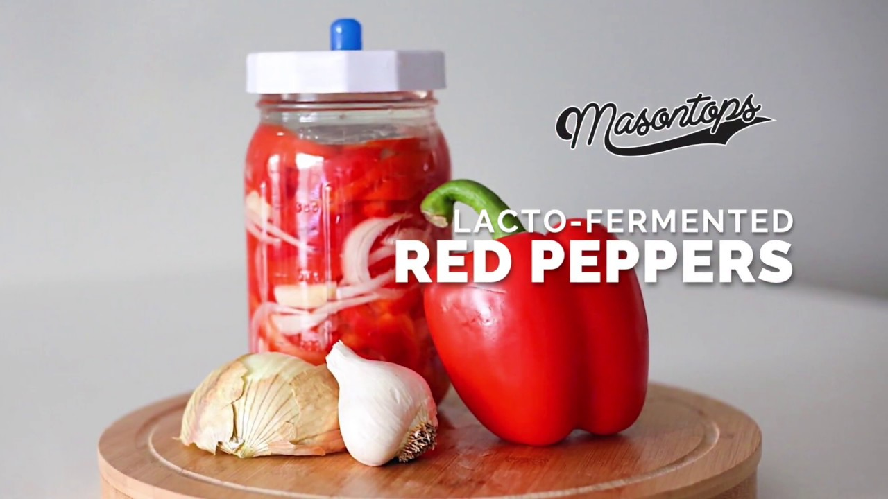 learn how to ferment red peppers youtube